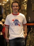 Caleb Crye en el pasado SHOT Show 2012